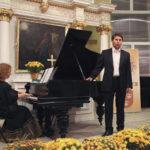 Bartłomiej Misiuda<br>baryton<br><br>Julia Laskowska<br>fortepian